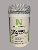 WHEY PURE SUPER PROTEIN creamy Vanilla (30) vegetarian servings