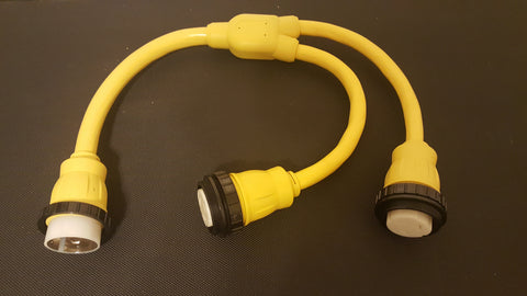 Threaded Collar for 50 amp Shore Power Cords /& Adapters or Pigtails Marine Boat