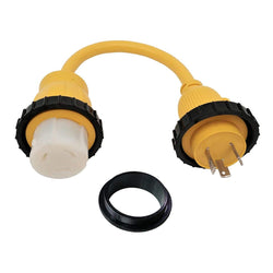 Marine 125v 30a Male x 125v 50a Female Pigtail Adpater