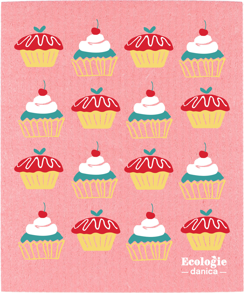 Swedish Dishcloth - Cake Walk