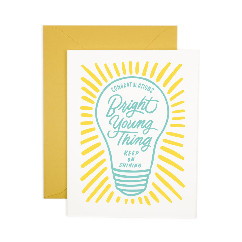 Friendly Fire Paper Card - Bright Young Thing