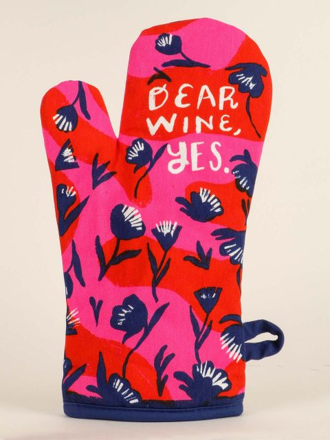 Blue Q Oven Mitt - Dear Wine, Yes