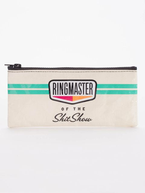 Blue Q Pencil Case - Ringmaster Of The Shitshow