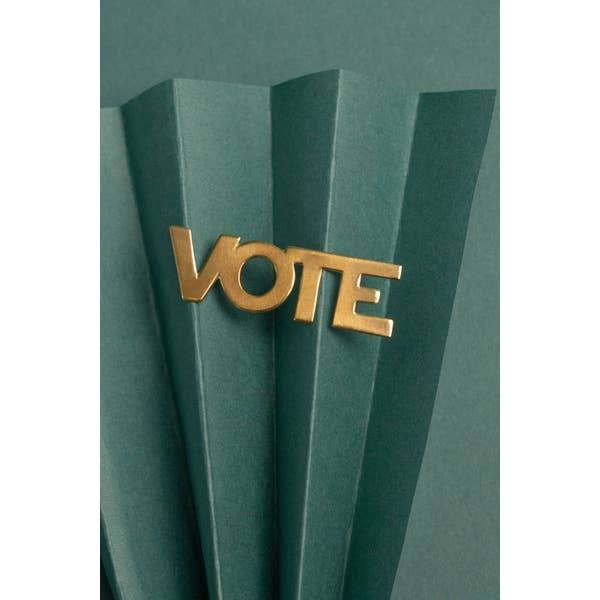Vote Pin - Horizontal