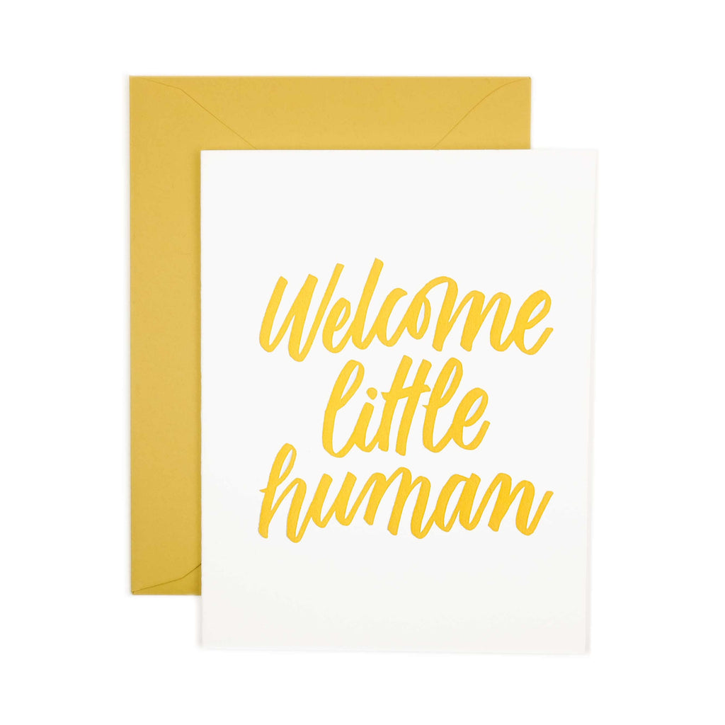 Friendly Fire Paper Card - Little Human