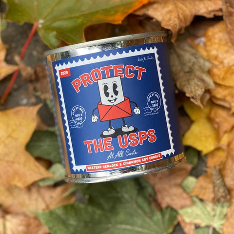 Good & Well Supply Co. Candle - Protect the USPS