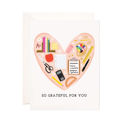 Teacher Grateful Card