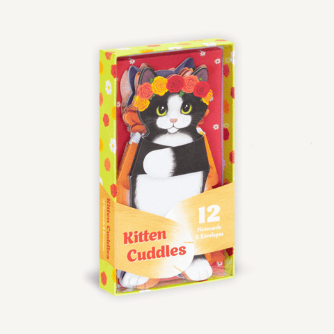 Kitten Cuddles Notecards & Envelopes