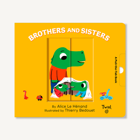 Pull and Play Book - Brothers and Sisters