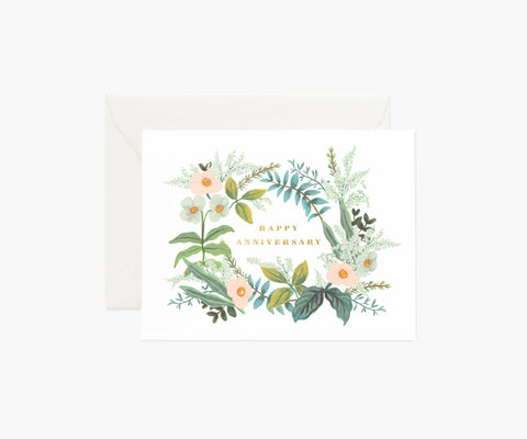Rifle Paper Card - Anniversary Bouquet