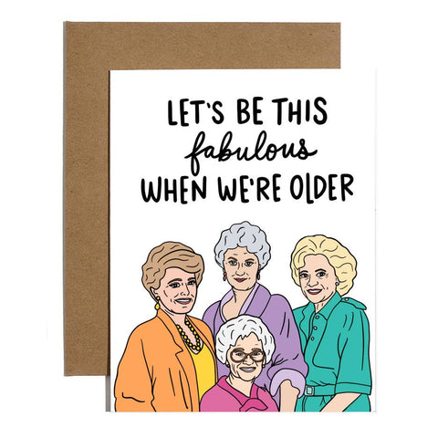 Golden Girls Fabulous Card