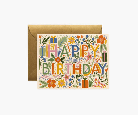 Rifle Paper Card - Fiesta Birthday