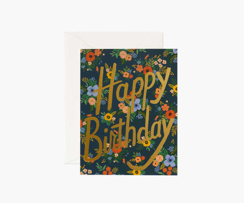 Rifle Paper Card - Garden Birthday