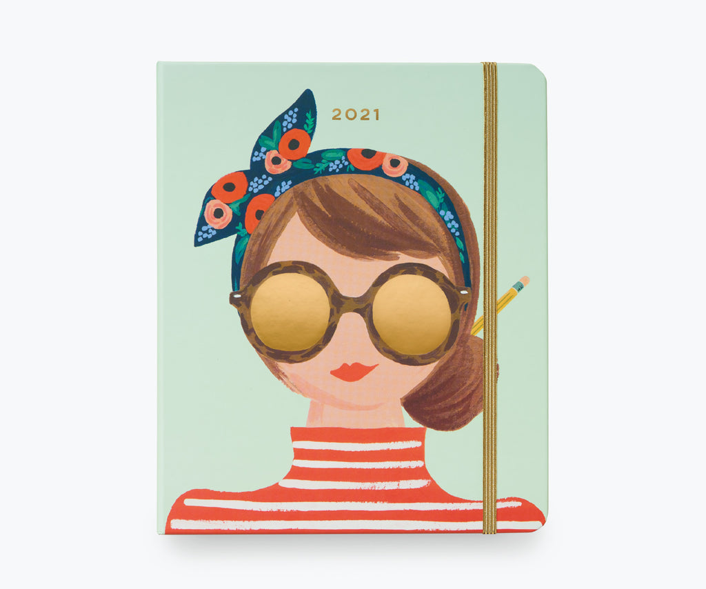 Rifle Paper 2021 Covered Planner - Type A