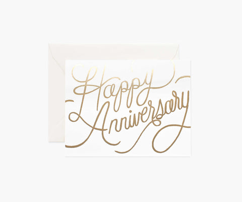 Rifle Paper Card - Happy Anniversary