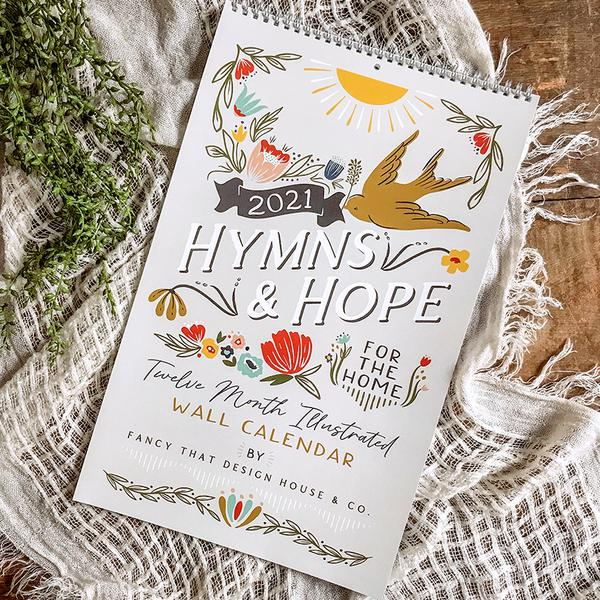 Hymns & Hope for the Home 2021 Calendar