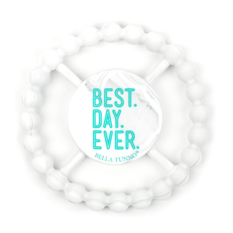 Bella Tunno Marble Teether -  Best Day