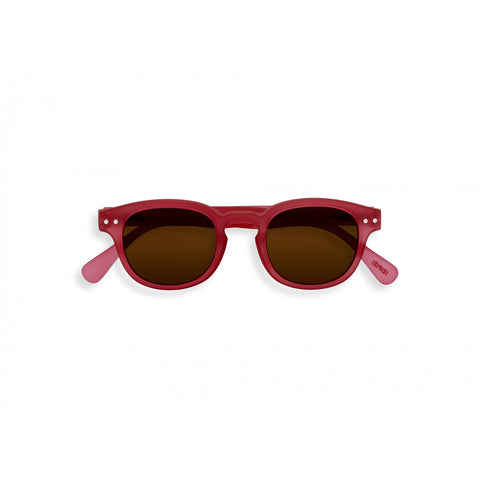 Izipizi Junior #C Sunglasses 5-10 years - Sunset Pink