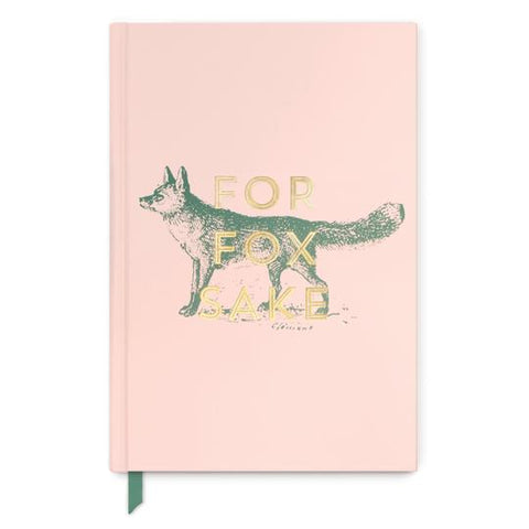 "Cloth Covered Book - ""For Fox Sake"""