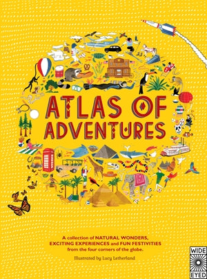Atlas of Adventures: A collection of natural wonders