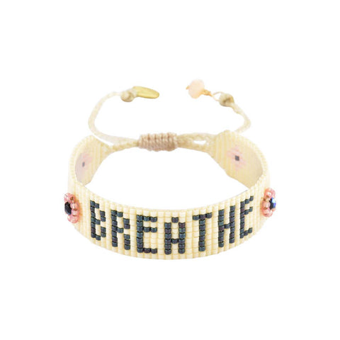 Mishky- Beaded Bracelet- Breathe