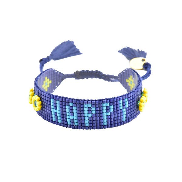 Mishky- Beaded Bracelet- Happy Royal
