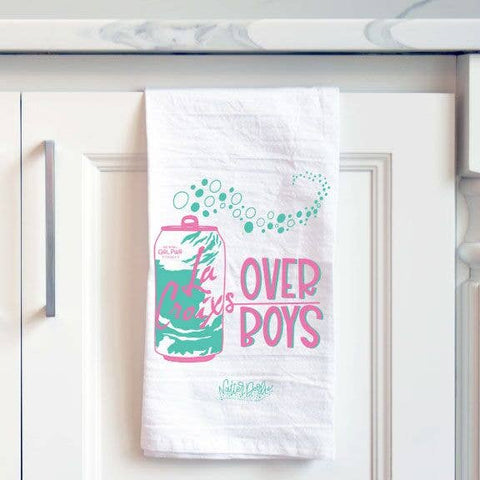NatterDoodle Dish Towel - La Croixs Over Boys