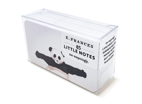 E. Frances Paper - Little Notes - Panda Hug