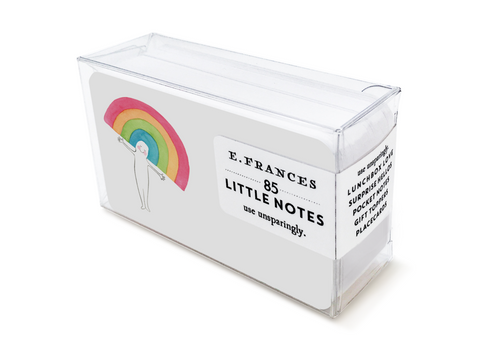 E. Frances Paper - Little Notes - Rainbow Head