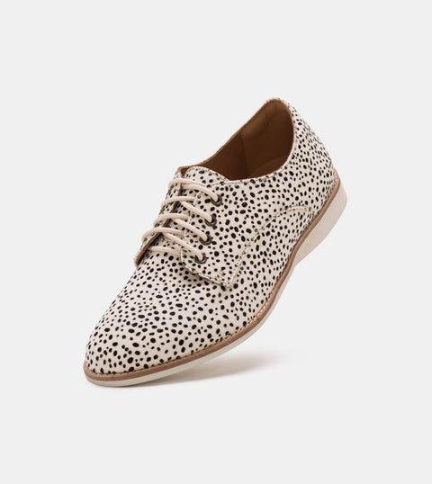 Rollie - Derby - Snow Leopard Oxford