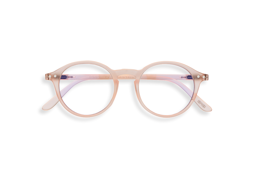 Izipizi Screen Readers - #D Shape - Rose Quartz