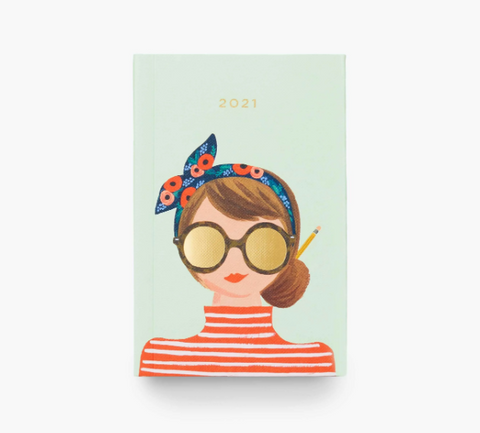 Rifle Paper 2021 Pocket Planner - Type A