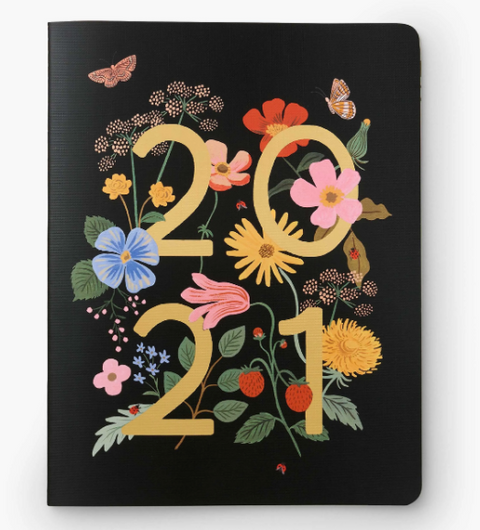 Rifle Paper 2021 Appointment Notebook - Wild Garden