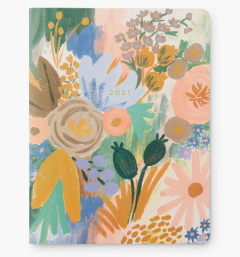 Rifle Paper 2021 Appointment Notebook - Luisa