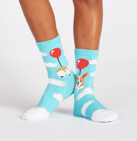 Sock It To Me Junior Socks - Pup, Pup, & Away