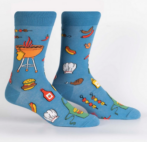 Sock It To Me Men's Crew Socks - Grillin' It