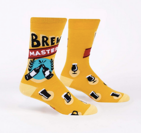Sock It To Me Men's Crew Socks - Brew Master
