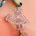 Mask Necklace - Robot