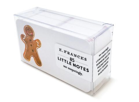 E. Frances Paper - Little Notes - Gingerbread