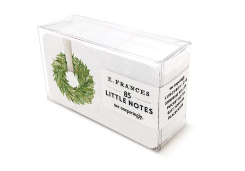 E. Frances Paper - Little Notes - Classic Wreath