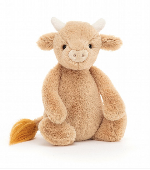 Jellycat Bashful Cow - Small