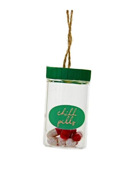 Ornament - Chill Pills Cannister