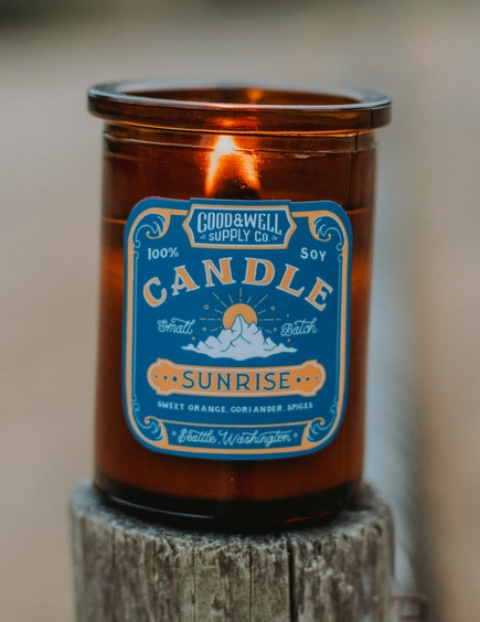 Good & Well Supply Co. Candle - Apothecary - Sunrise
