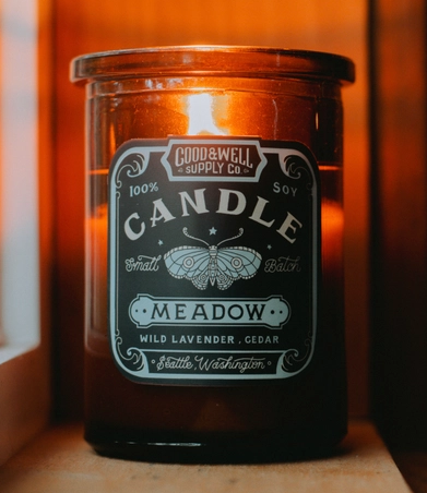 Good & Well Supply Co. Candle - Apothecary - Meadow