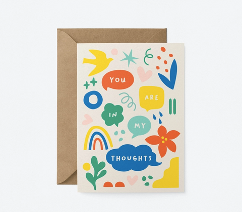 Graphic Factory Card - You Are In My Thoughts