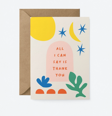 Graphic Factory Card - All I Can Say