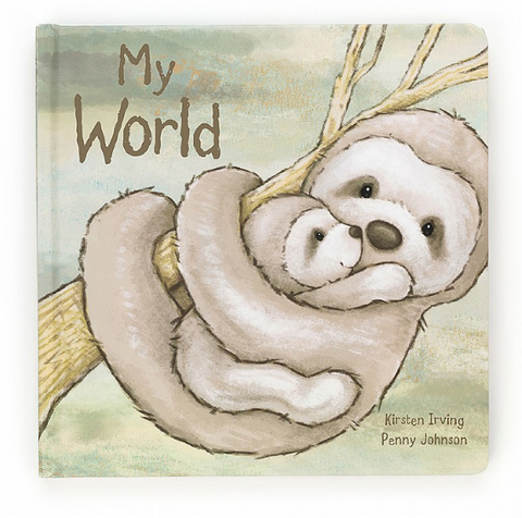 Jellycat Book - My World