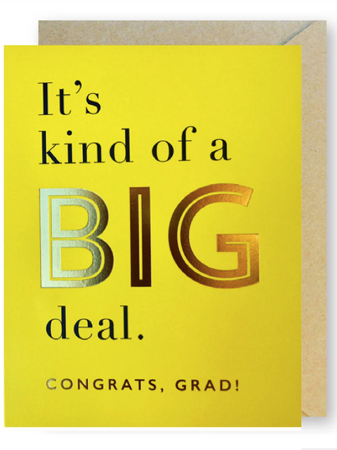 J*Falkner Card - Big Deal Grad
