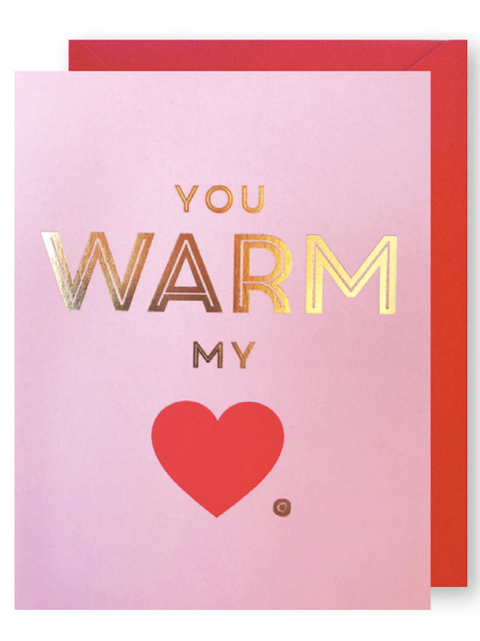 J*Falkner Card - Warm My Heart