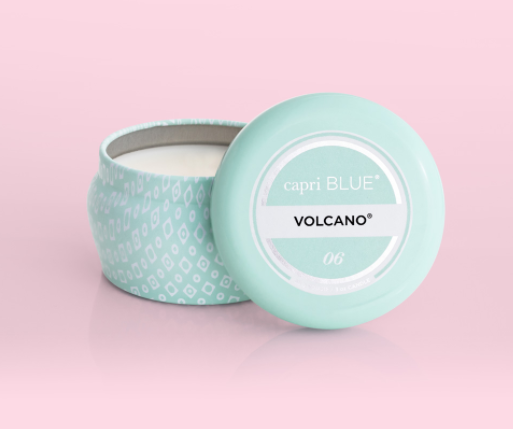 Capri Blue - Volcano - Aqua Mini Tin